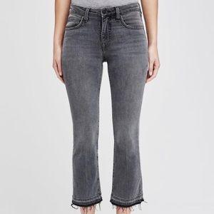 Serena Crop Flare Jeans